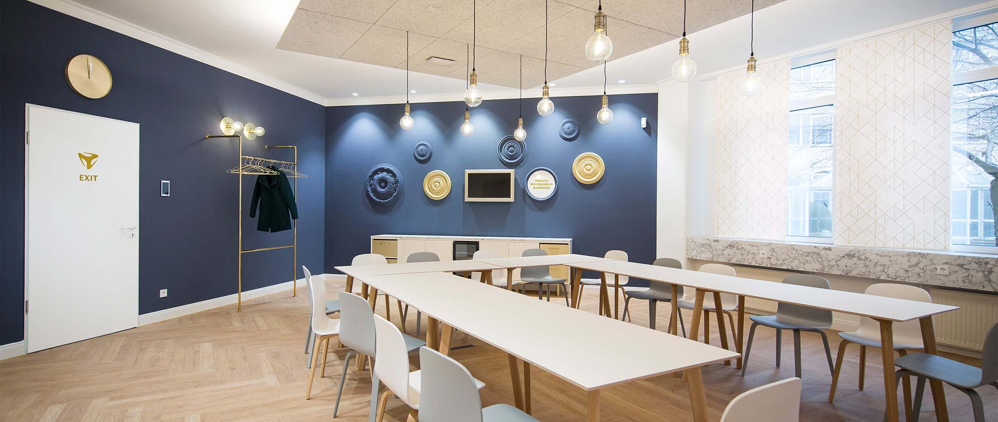 Der freenet Group Campus Hamburg: Raum Blankense, Design von der Agentur Preussisch Portugal
