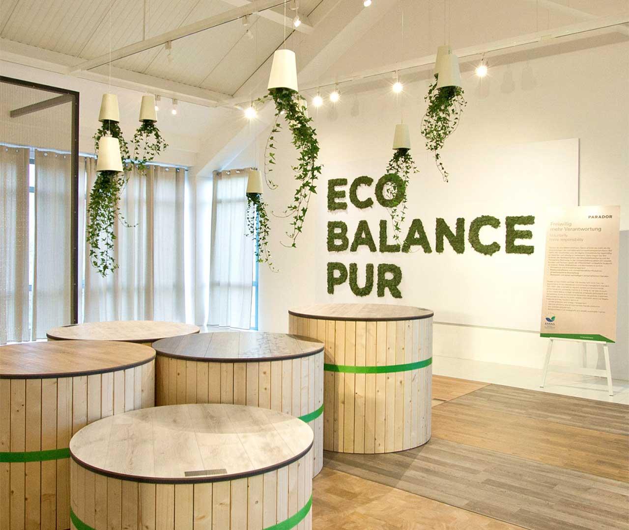 Parador Ausstellungsfläche, von Designagentur Preussisch Portugal