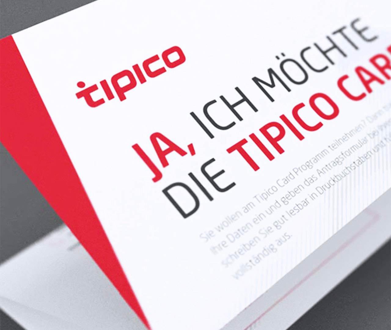 Tipico-Card: Design von der Agentur Preussisch Portugal aus Hamburg