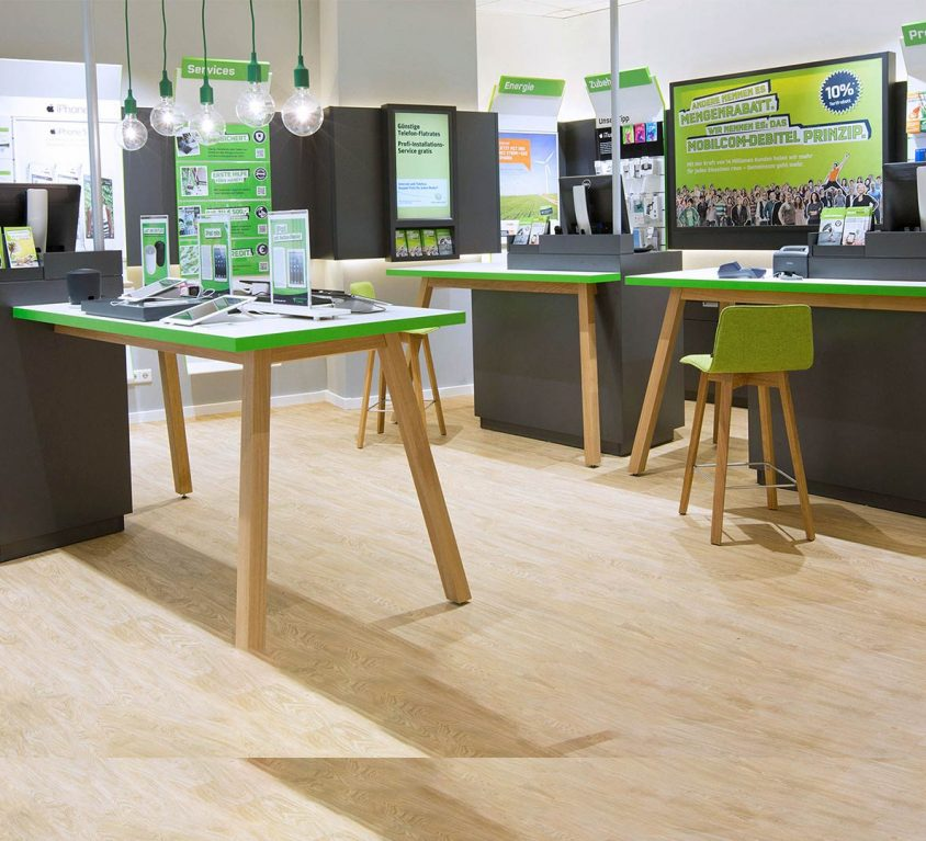 mobilcom-debitel: Shopgestaltung