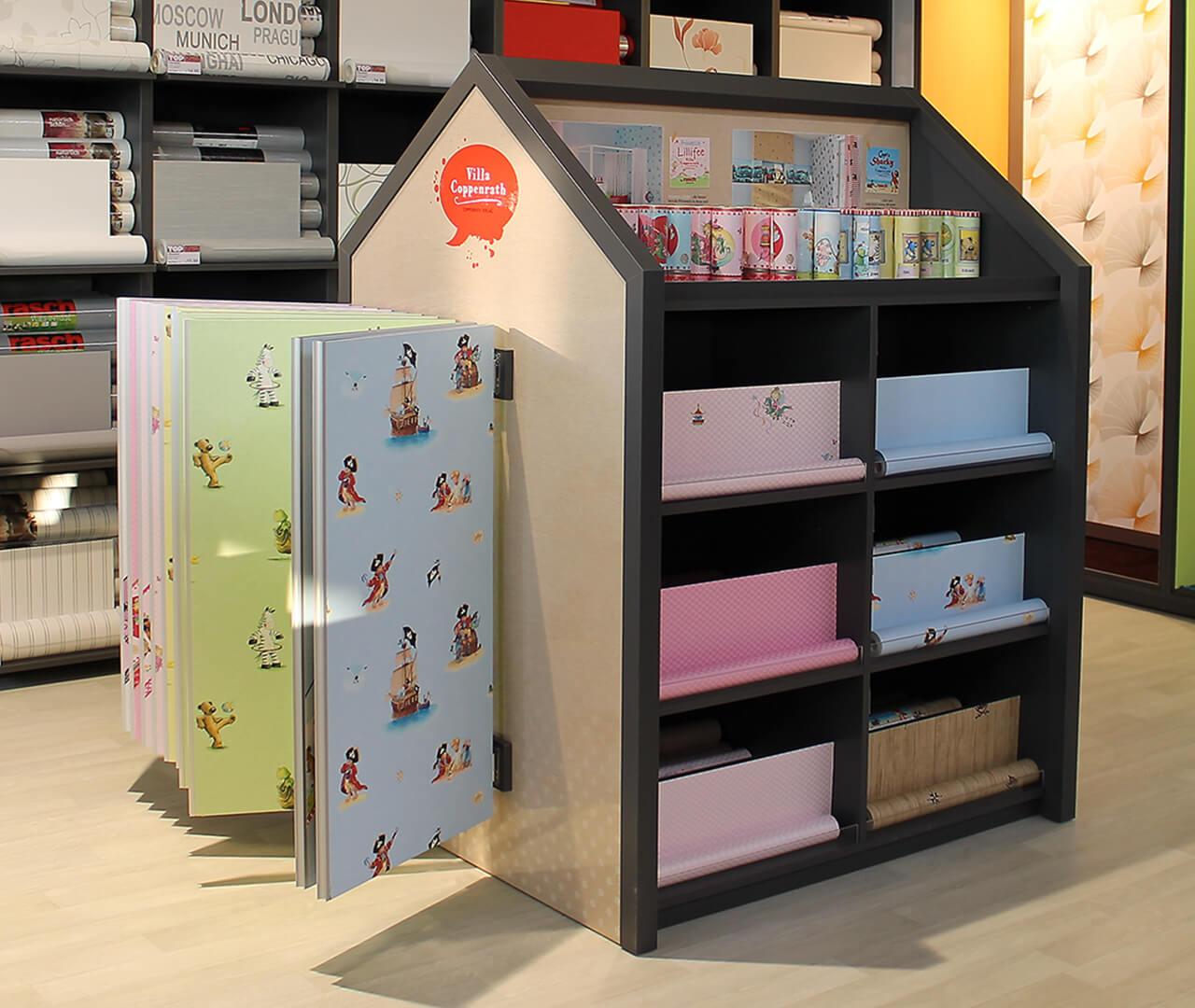 Kinder-Tapetenkollektion für Villa Coppenrath: Designkonzept von Preussisch Portugal