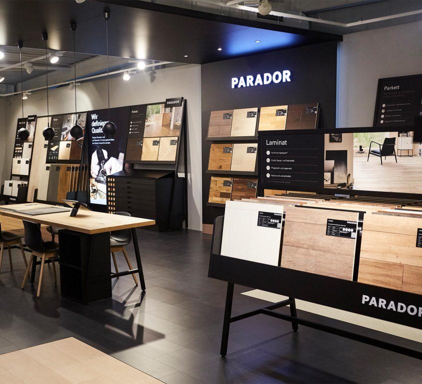 Parador modular shop concept by design studio Preussisch Portgual