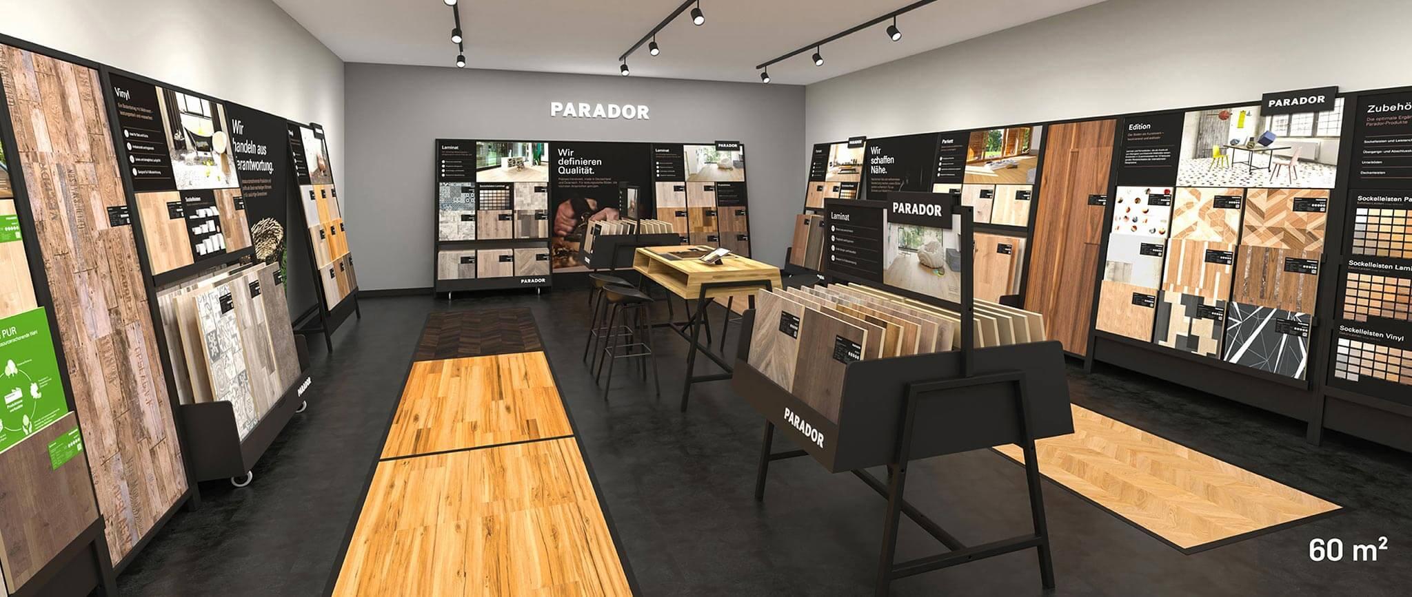 Parador Studio 60qm: PoS-System von Agentur Preussisch Portugal aus Hamburg