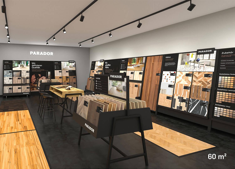 Parador Studio 60 qm: Shopdesign von Agentur Preussisch Portugal aus Hamburg