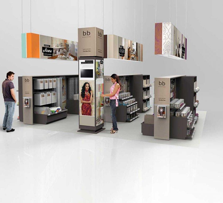 rasch-Shop-in-Shop Systeme