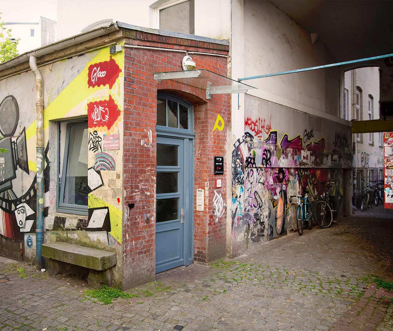 Designagentur Preussisch Portugal aus Hamburg: EIngang