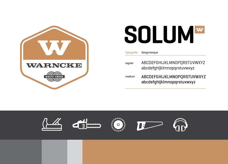 Imagebroschüre und Corporate Design für Warncke von Preussisch Portugal