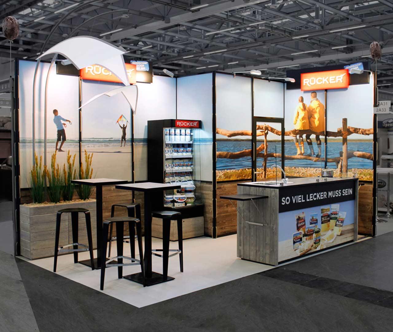 Rücker: Messedesign als Baukasten von Agentur Preussisch Portugal aus Hamburg