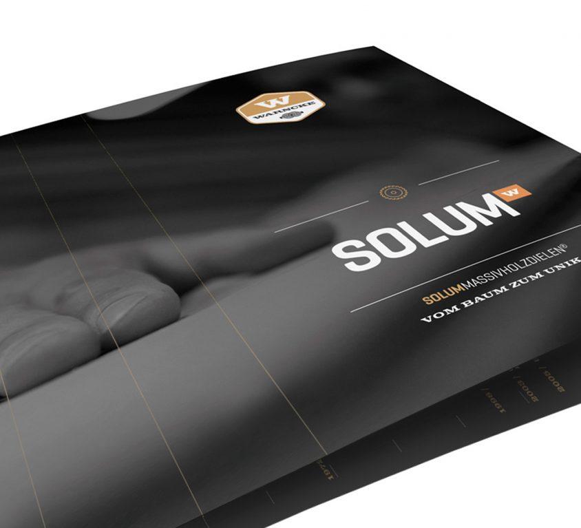 Imagebroschüre und Corporate Design für Warncke