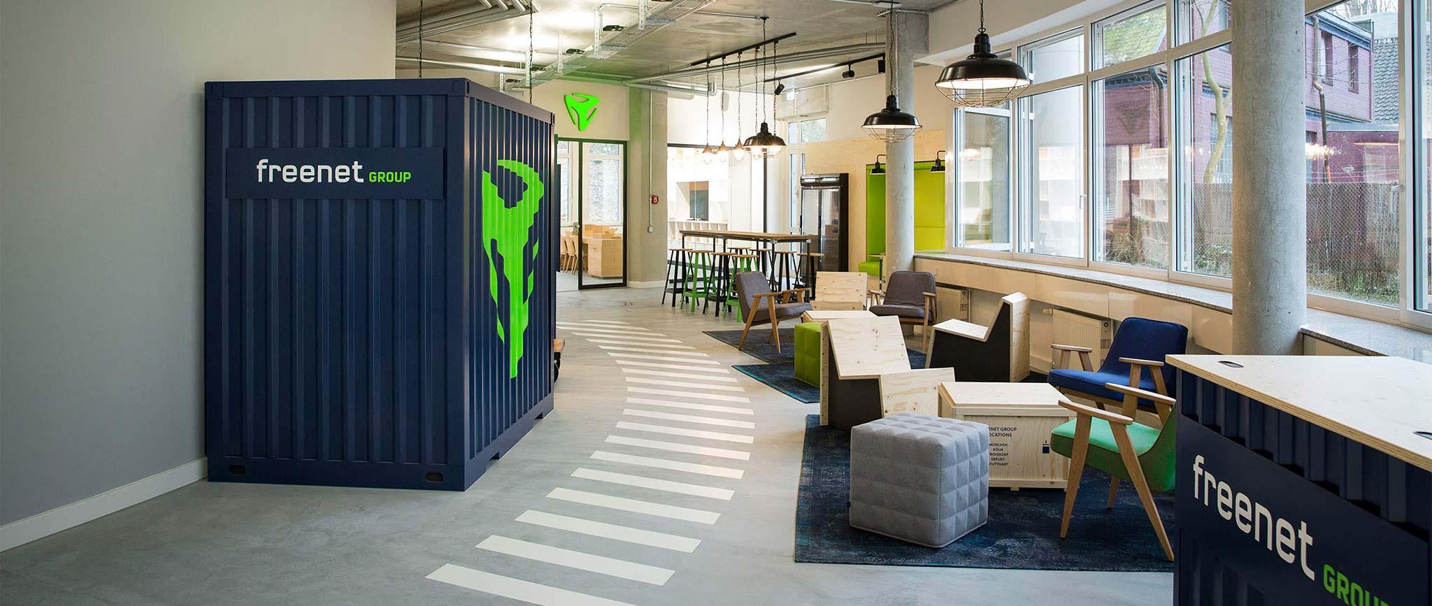 """freenet Group: Office Design """"Campus Hamburg"""" von Agentur Preussisch Portugal aus Hamburg"""