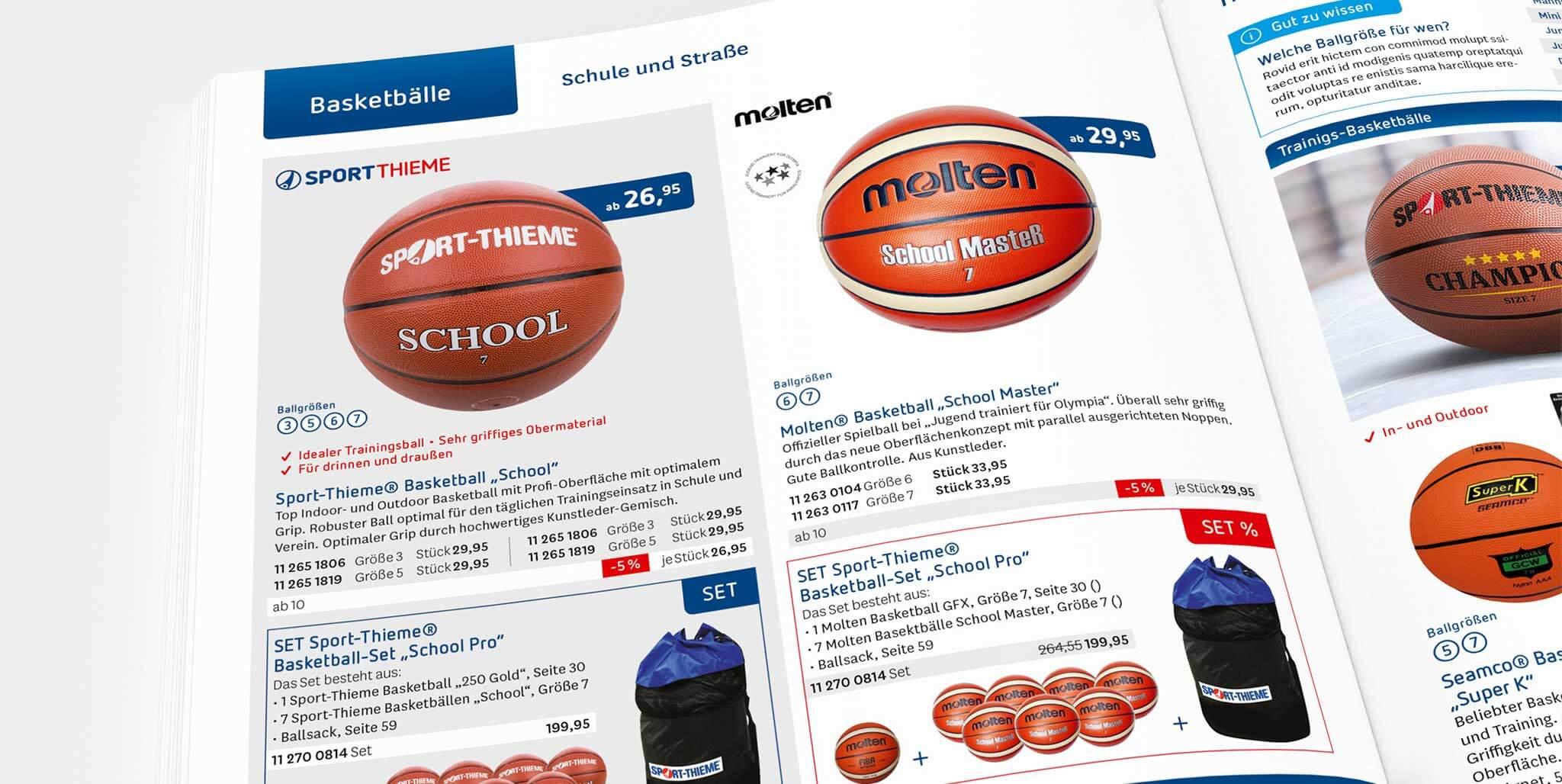 Sport-Thieme: Neues Designsystem für den Katalog von Preussisch Portugal