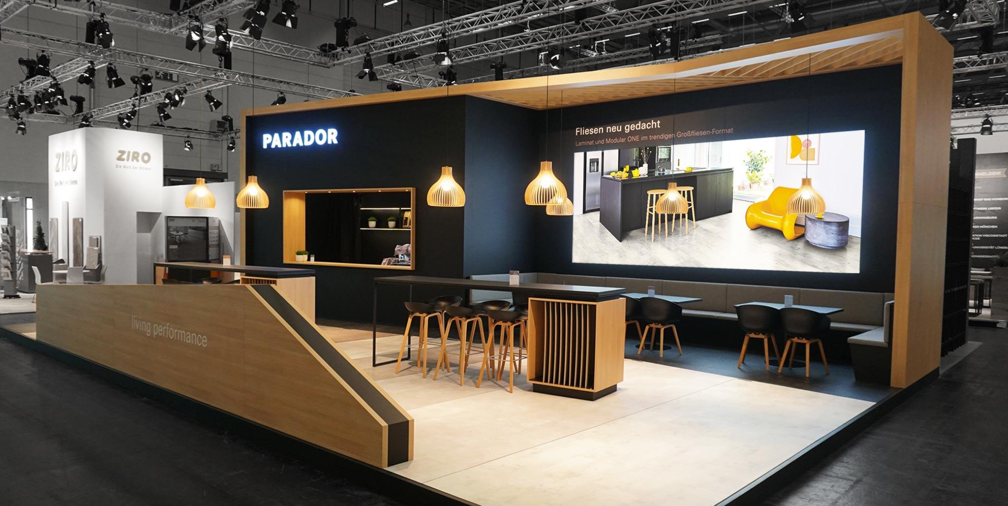 Parador Messekonzept von Designagentur Preussisch Portugal
