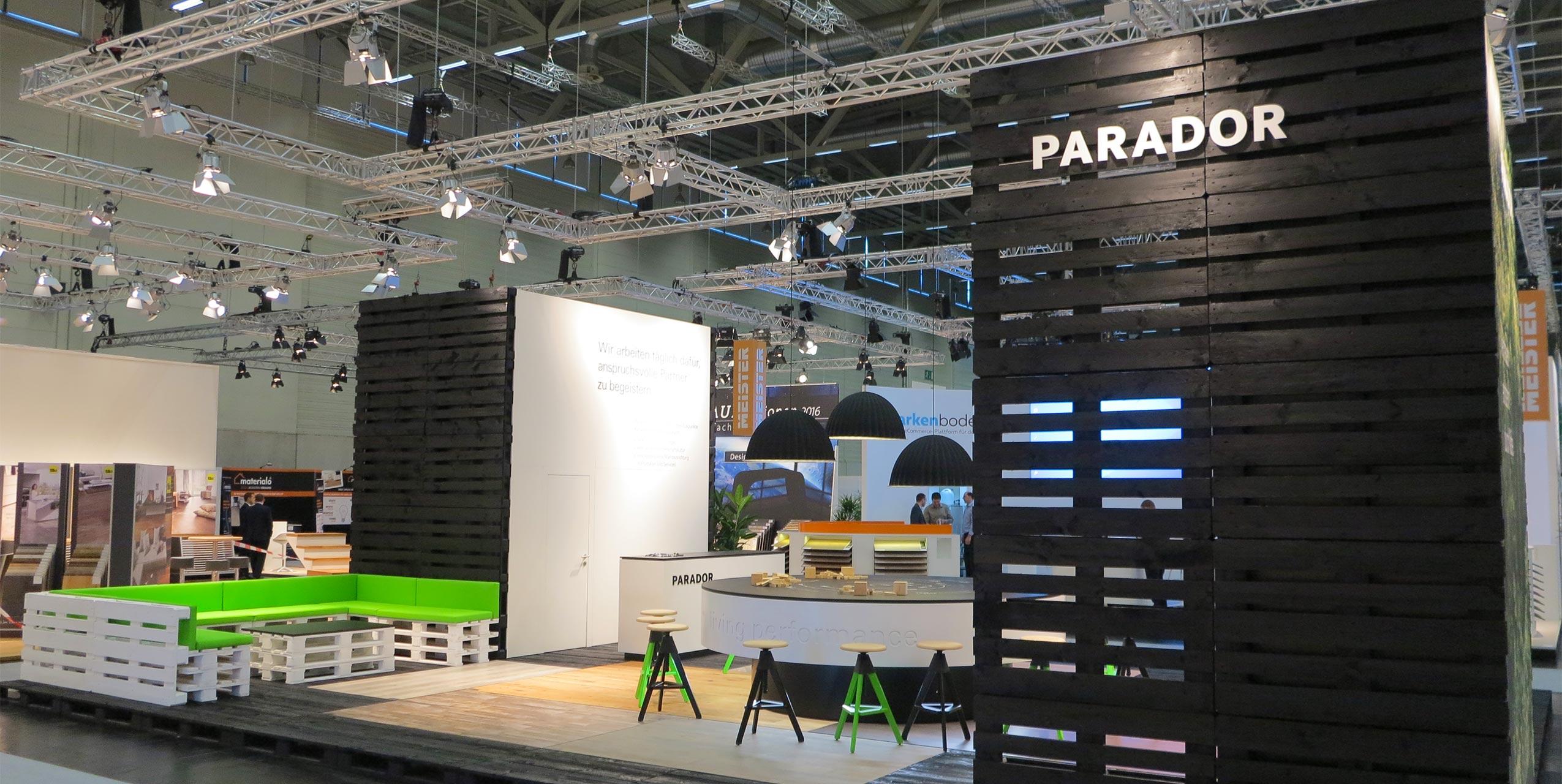 Parador Messekonzept von der Designagentur Preussisch Portugal