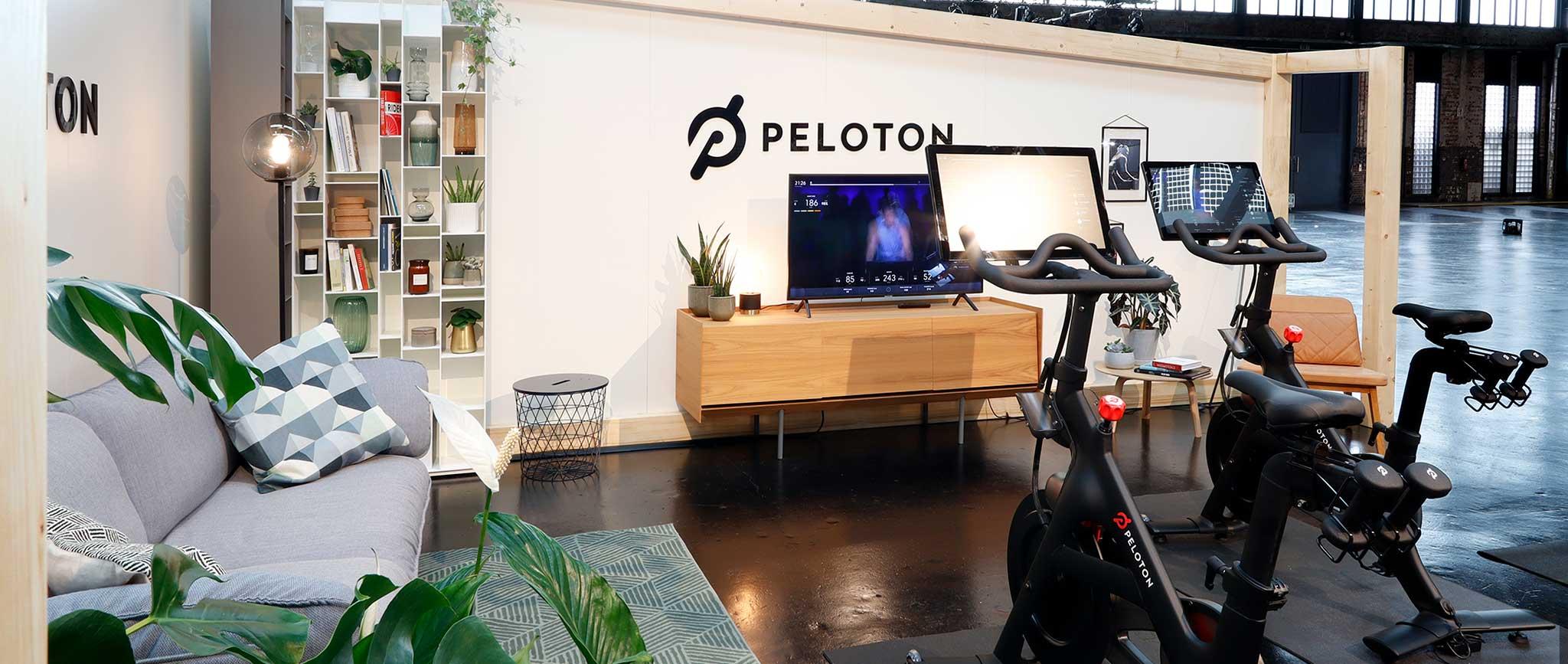 Messestand Peloton: Design von Agentur Preussisch Portugal aus Hamburg