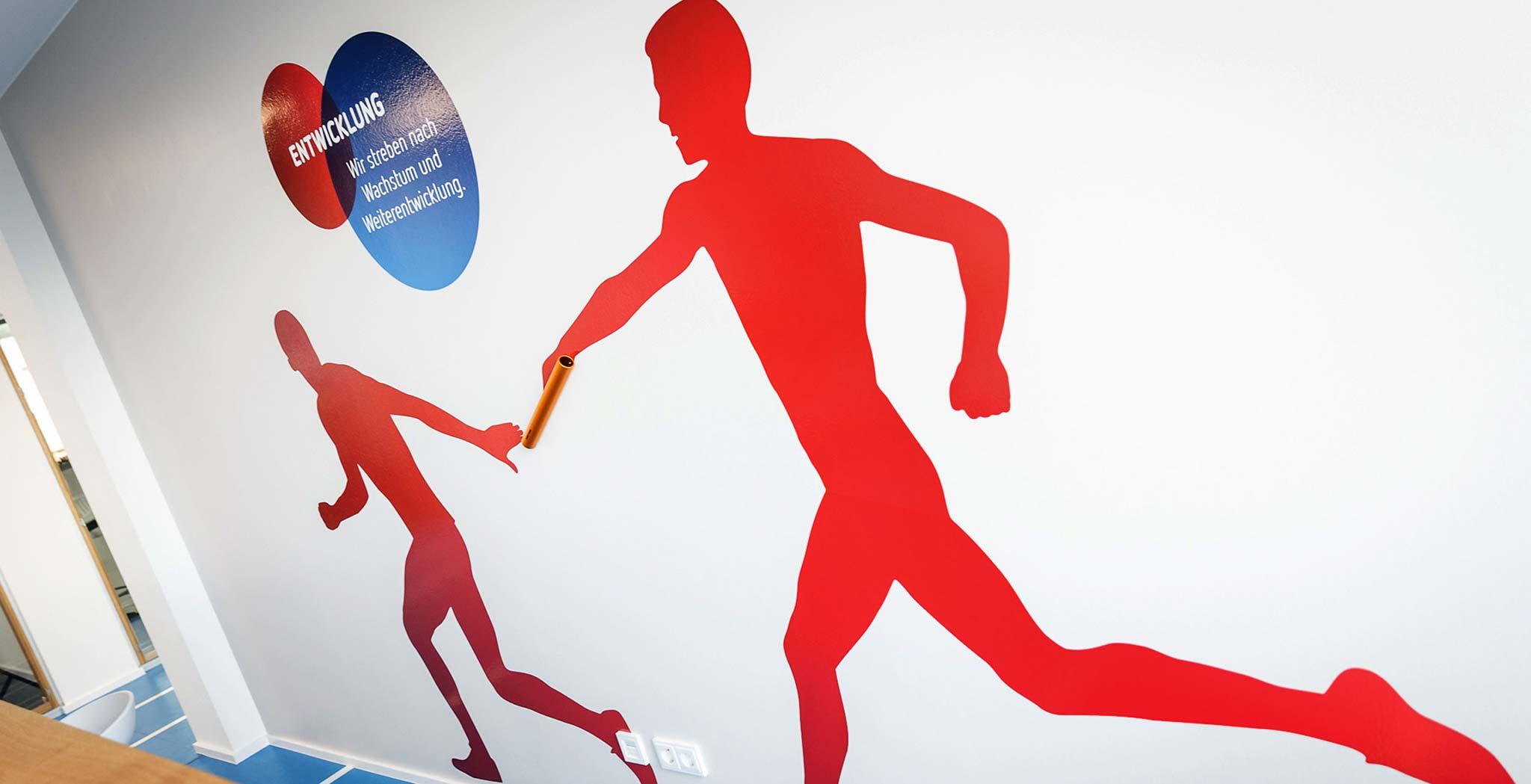 Sport-Thieme: Markentypisches Office-Design von Designagentur Preussisch Portugal aus Hamburg