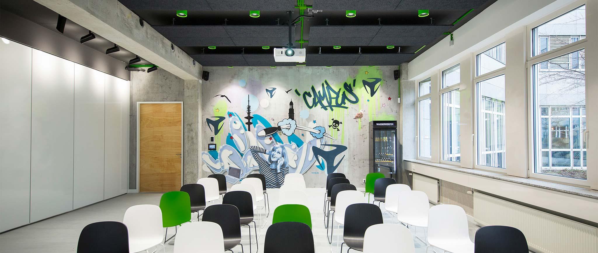 freenet Group im Campus Hamburg: Konferenzraum Design von der Agentur Preussisch Portugal