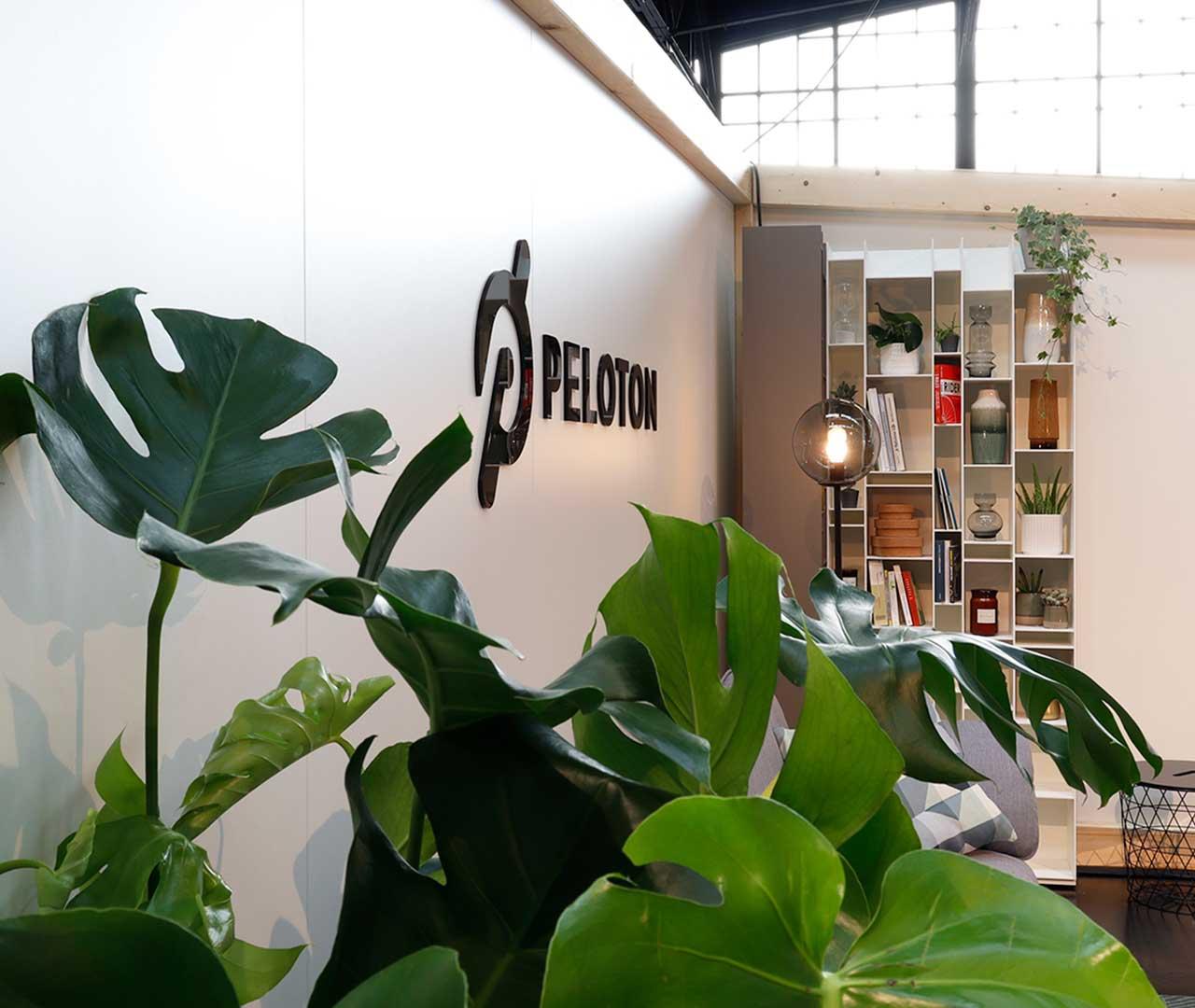 Peloton Sweatlife Berlin 2019: Detail Messeauftritt von Preussisch Portugal