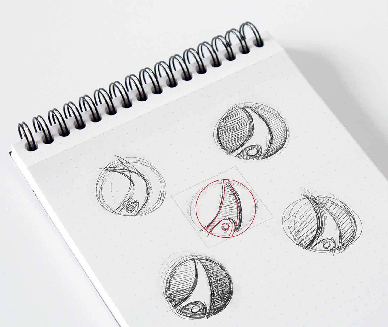 Sport-Thieme: Handzeichnung vom Logo von Preussisch Portugal