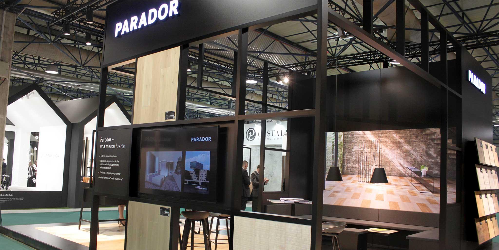 Parador Messe: Maderialia in Valencia , Designkonzept von Preussisch Portugal