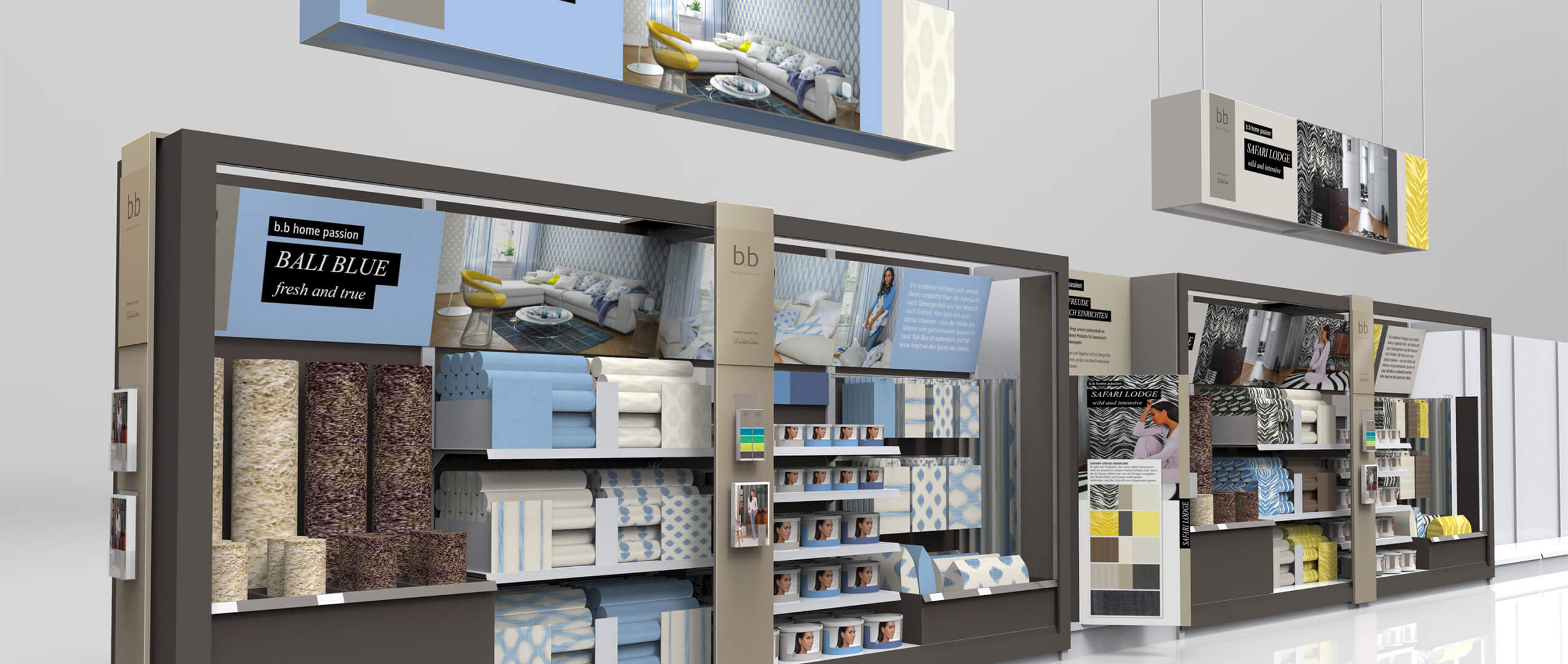 rasch-Rendering für Shopdesign von Agentur Preussisch Portugal
