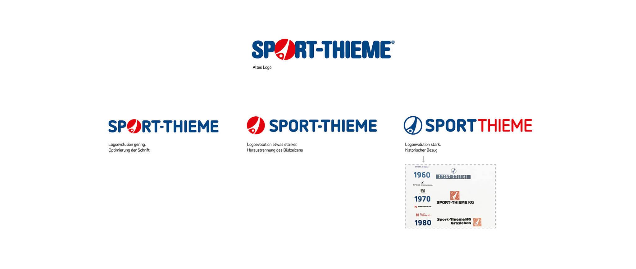 Sport-Thieme: Logo-Entwicklung von Designagentur Preussisch Portugal