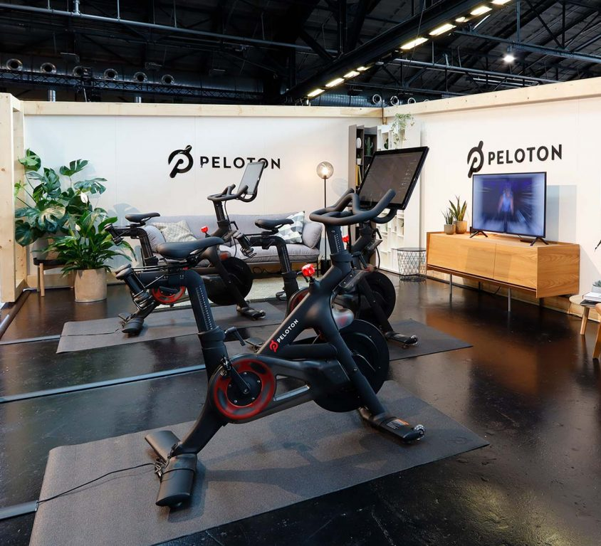 Messestand Peloton: Sweatlife Berlin 2019 thumb