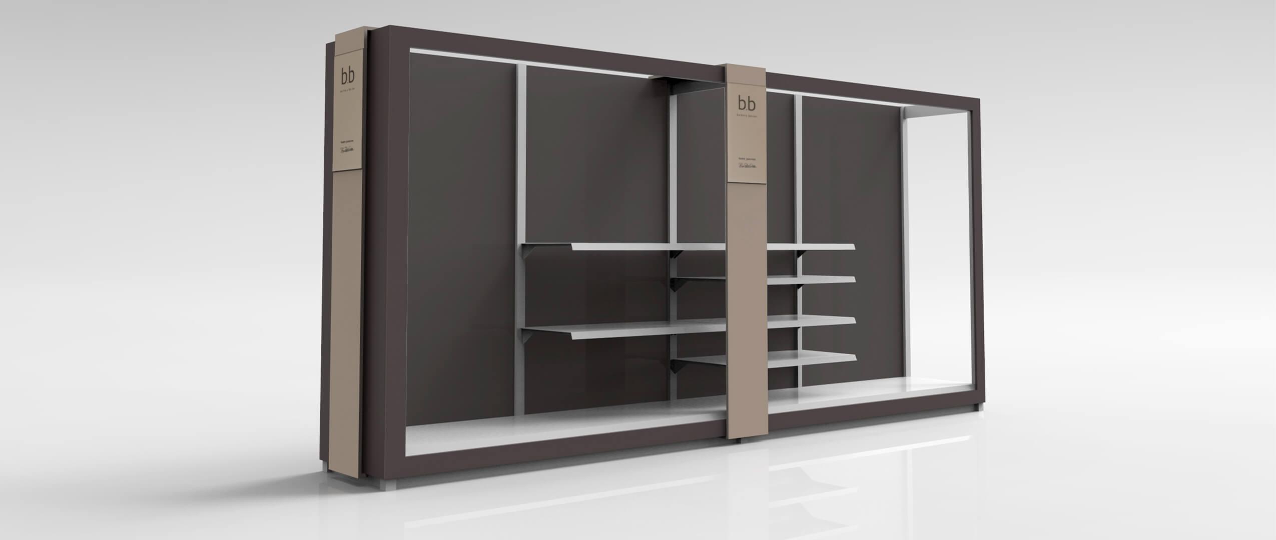Shopdesign: rasch-Rendering von der Agentur Preussisch Portugal