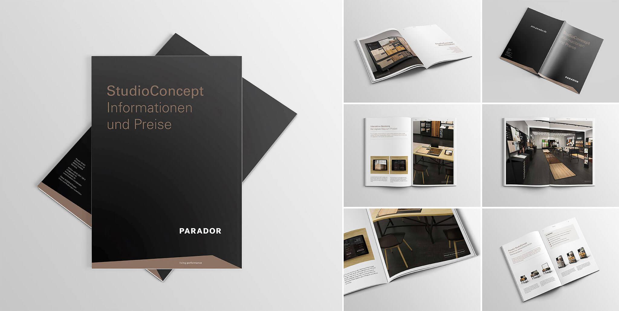 Parador Preisliste: Design von Agentur Preussisch Portugal aus Hamburg