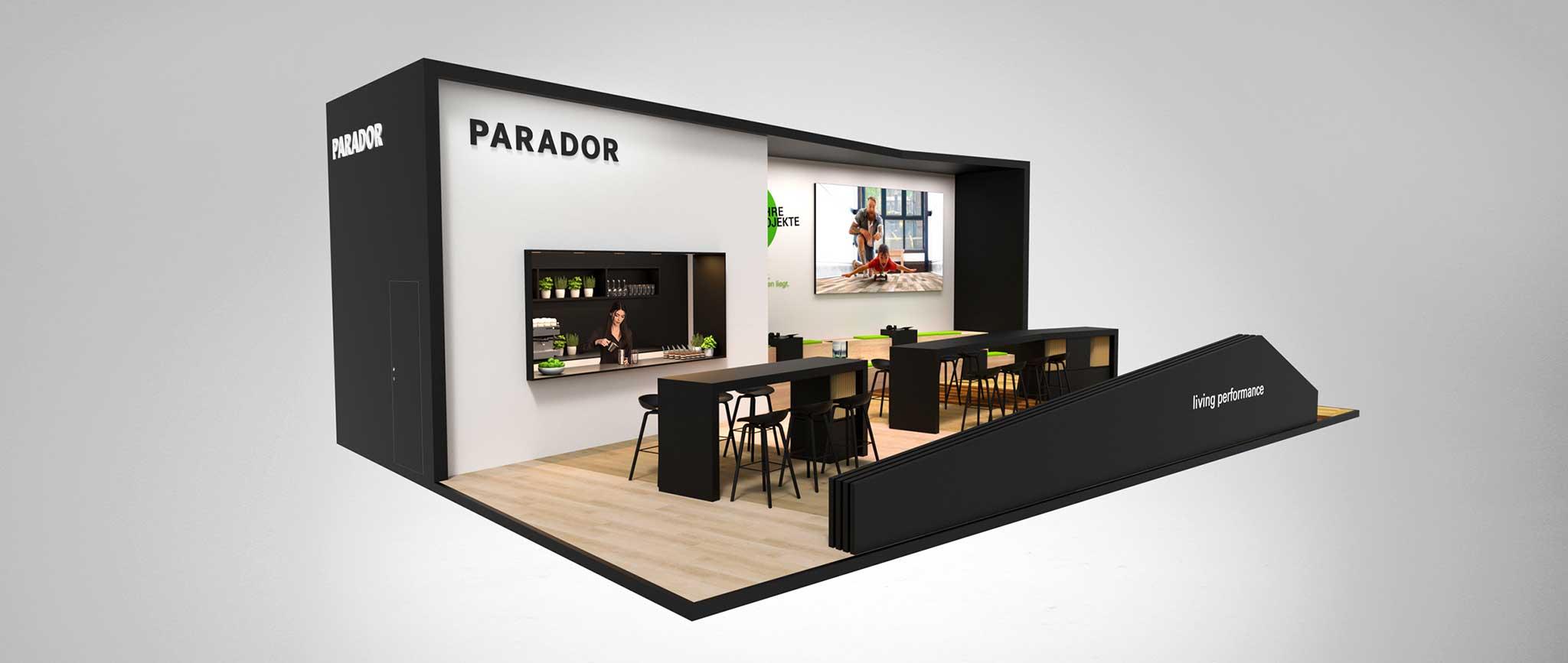 Parador Messeauftritte: Messedesign von Agentur Preussisch Portugal aus Hamburg