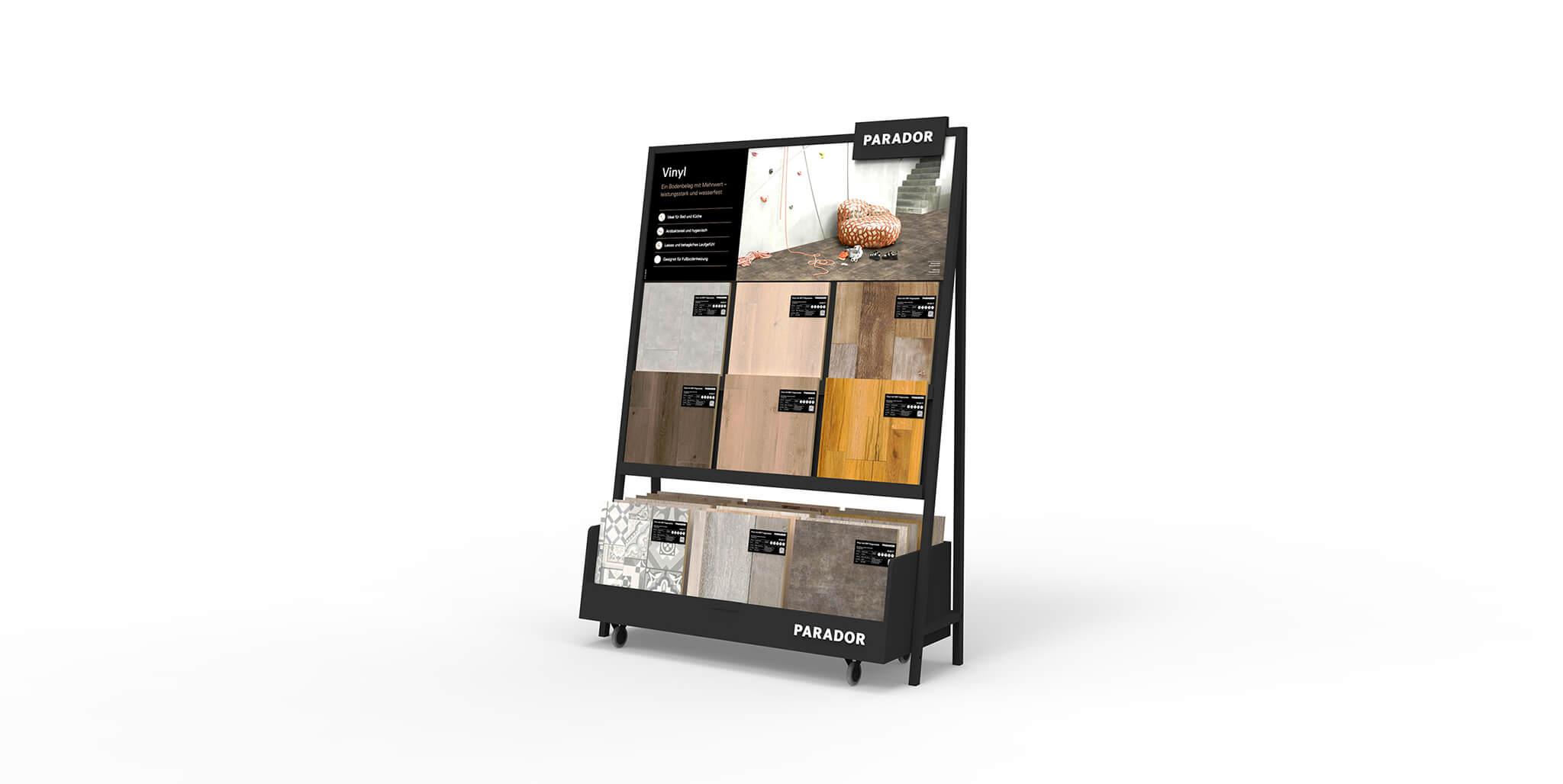 Parador Modulsystem: Shopdesign von Preussisch Portugal aus Hamburg