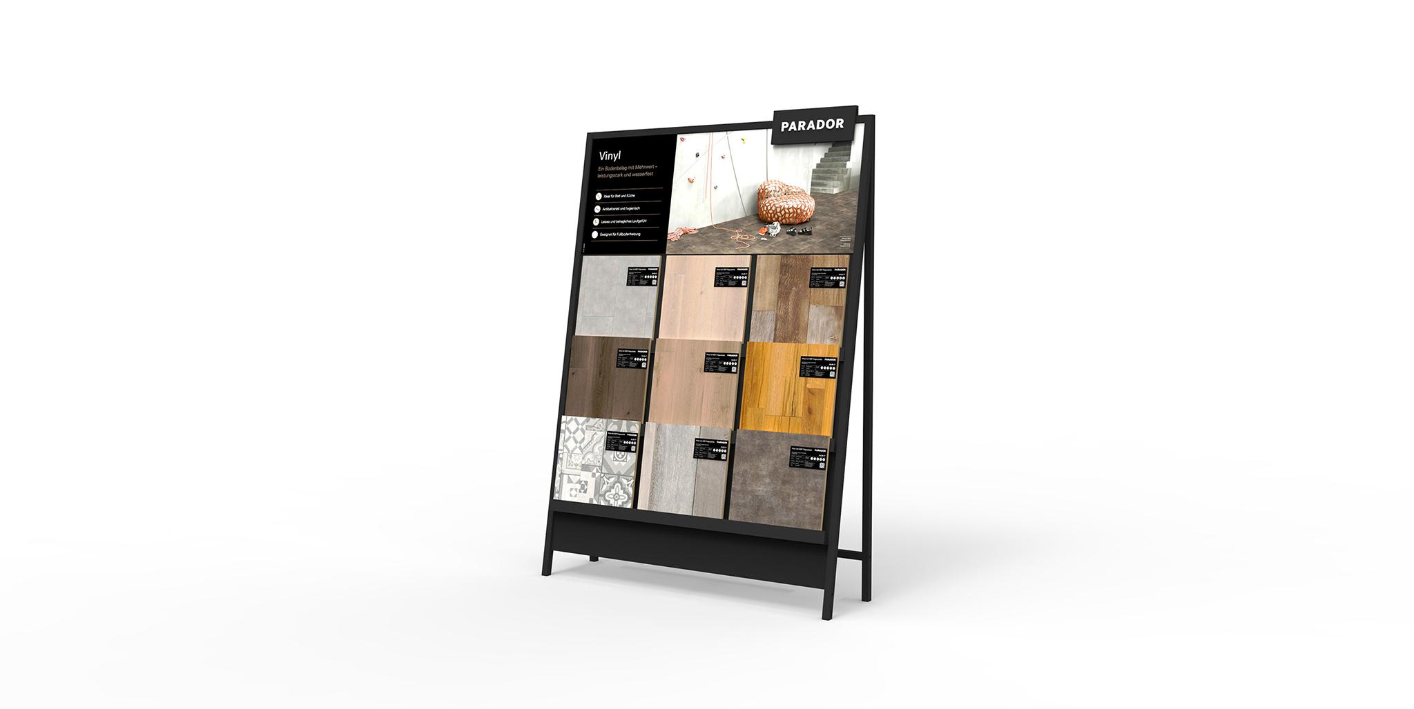 Parador Modulsystem: Shopdesign von Agentur Preussisch Portugal aus Hamburg
