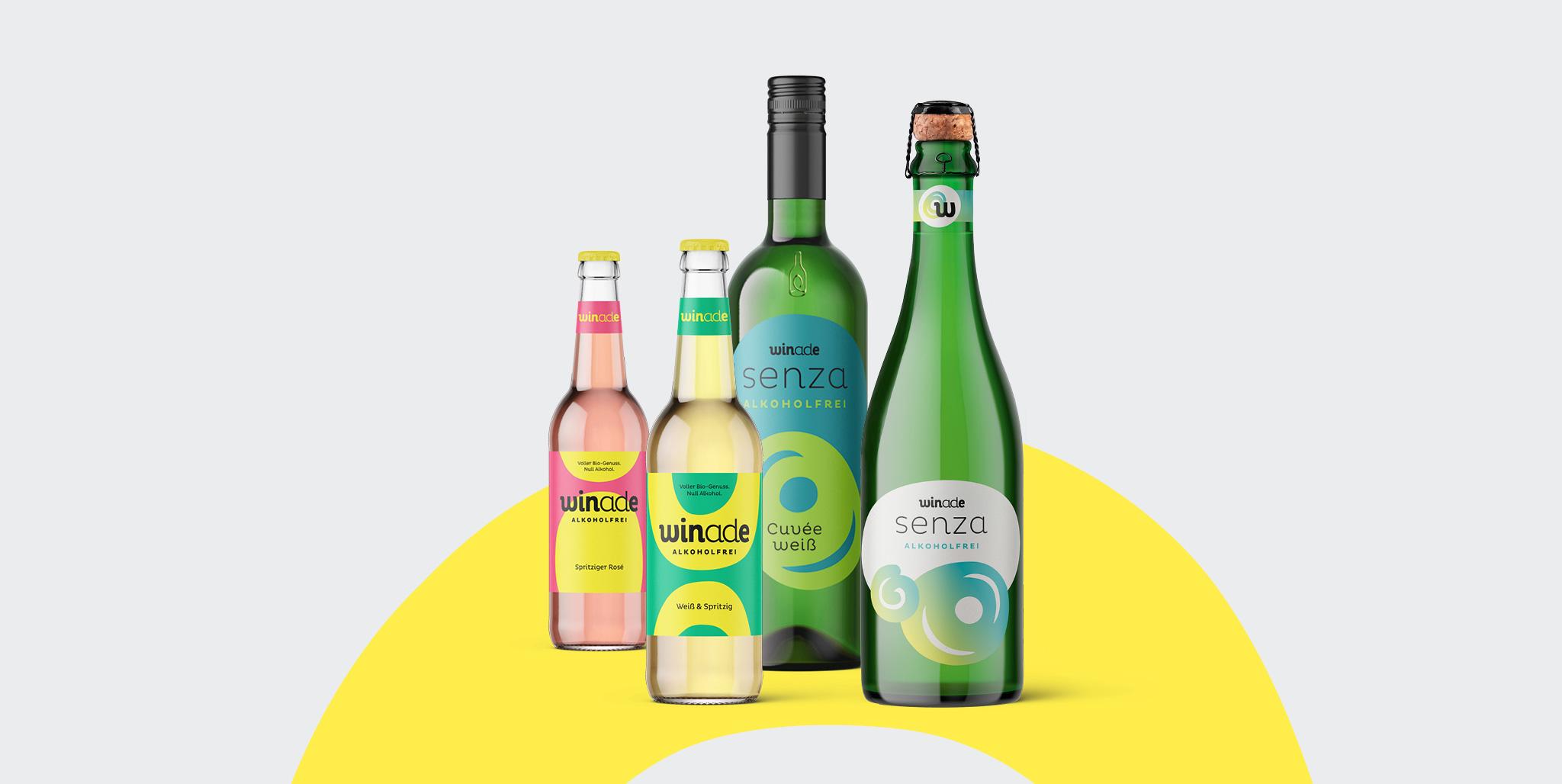 Winade Markenentwicklung: Produktfamilie Senza und Winade